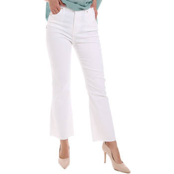 Kleidung Damen Bootcut Jeans Gaudi 011BD25017 Weiß