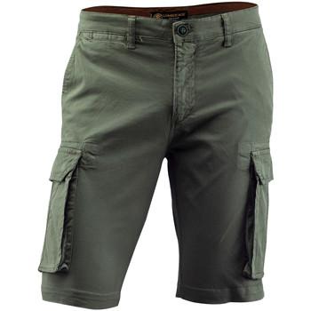 Kleidung Herren Shorts / Bermudas Lumberjack CM80747 002 602 Grün