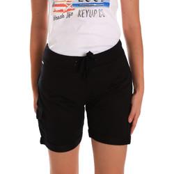 Kleidung Damen Shorts / Bermudas Key Up 5G75F 0001 Schwarz