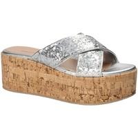 Schuhe Damen Pantoffel Fornarina PE18RO2916 Grau