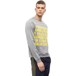 Kleidung Herren Sweatshirts Calvin Klein Jeans 00GMF8W320 Grau