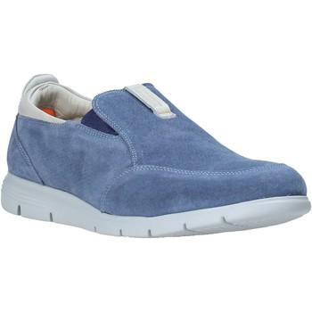 Schuhe Herren Slip on Impronte IM01001A Blau