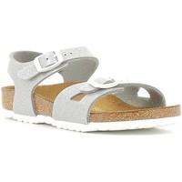 Schuhe Kinder Sandalen / Sandaletten Birkenstock 831783 Silber