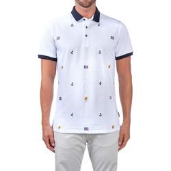 Kleidung Herren Polohemden Navigare NV82120 Weiß