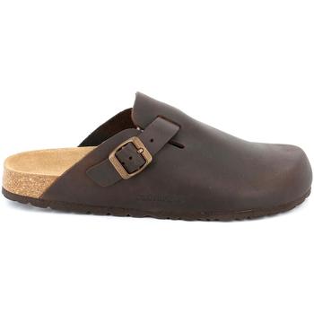 Schuhe Herren Pantoletten / Clogs Grunland CB7034 Braun
