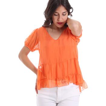 Kleidung Damen Tops / Blusen Gaudi 011BD45034 Orange