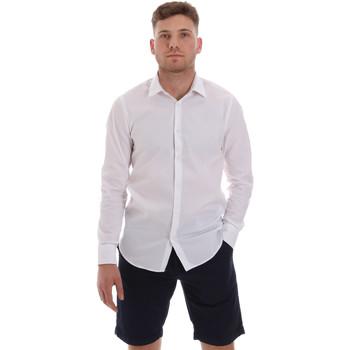 Kleidung Herren Langärmelige Hemden Sseinse CE506SS Weiß