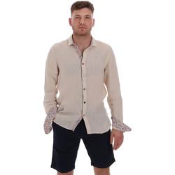 Kleidung Herren Langärmelige Hemden Sseinse CE538SS Beige