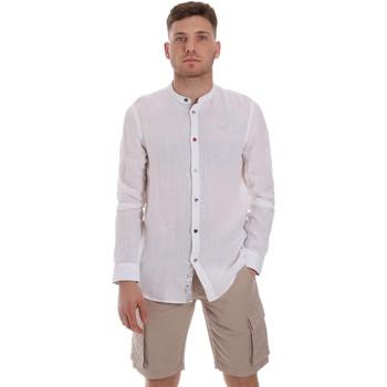 Kleidung Herren Langärmelige Hemden Sseinse CE537SS Weiß