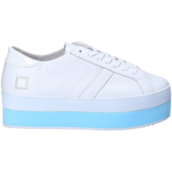 Schuhe Damen Sneaker Low Date W281-MO-LE-WH Weiß