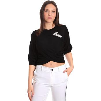 Kleidung Damen Tops / Blusen Denny Rose 811DD50011 Schwarz
