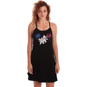 Kleidung Damen Kurze Kleider Key Up 5G30L 0001 Schwarz