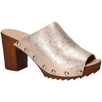 Schuhe Damen Pantoffel Keys 5868 Rosa