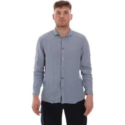 Kleidung Herren Langärmelige Hemden Sseinse CE538SS Blau