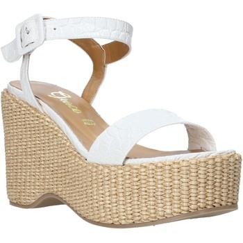 Schuhe Damen Sandalen / Sandaletten Grace Shoes 104002 Weiß