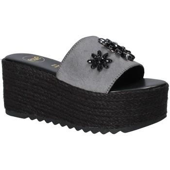 Schuhe Damen Pantoffel Exé Shoes G47008347A13 Schwarz