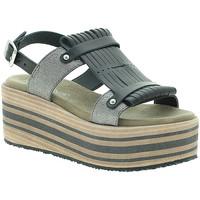 Schuhe Damen Sandalen / Sandaletten Pregunta IBH15804 Schwarz