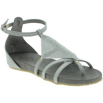 Schuhe Damen Sandalen / Sandaletten 18+ 6108 Grau