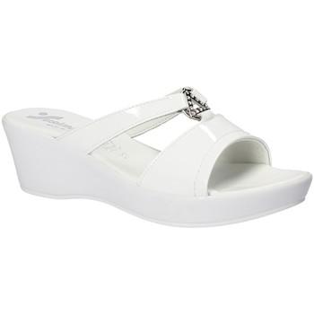 Schuhe Damen Pantoffel Susimoda 173643 Weiß