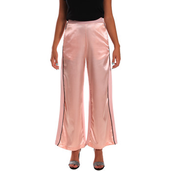 Kleidung Damen Fließende Hosen/ Haremshosen Y Not? 18PEY001 Rosa