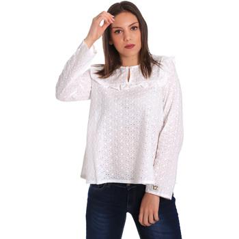 Kleidung Damen Tops / Blusen Y Not? 18PEY018 Weiß