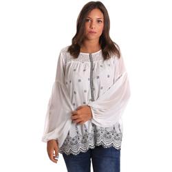 Kleidung Damen Tops / Blusen Smash S1887419 Weiß