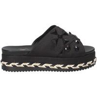 Schuhe Damen Pantoffel Exé Shoes G41006307001 Schwarz