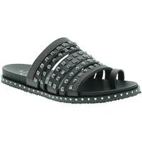 Schuhe Damen Sandalen / Sandaletten 18+ 6135 Schwarz