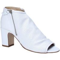 Schuhe Damen Sandalen / Sandaletten Keys 5614 Weiß