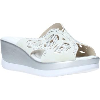 Schuhe Damen Pantoffel Valleverde 32150 Weiß