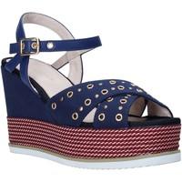 Schuhe Damen Sandalen / Sandaletten Lumberjack SW83106 002 M17 Blau