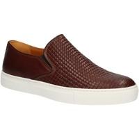 Schuhe Herren Slip on Rogers 2236B Braun
