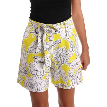 Kleidung Damen Shorts / Bermudas Y Not? 17PEY003 Gelb