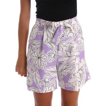 Kleidung Damen Shorts / Bermudas Y Not? 17PEY003 Violett