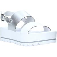 Schuhe Damen Sandalen / Sandaletten NeroGiardini E012581D Weiß