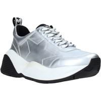Schuhe Damen Sneaker Low Shop Art SA020040 Silber