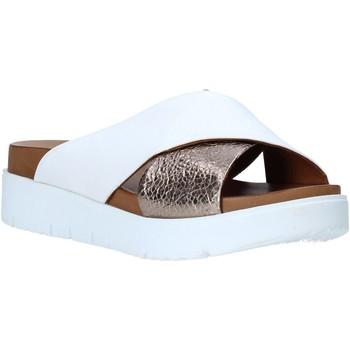 Schuhe Damen Pantoffel Bueno Shoes N3408 Weiß