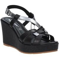 Schuhe Damen Sandalen / Sandaletten Valleverde 32404 Schwarz