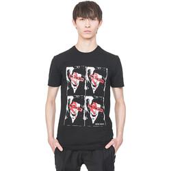 Kleidung Herren T-Shirts Antony Morato MMKS01743 FA120001 Schwarz