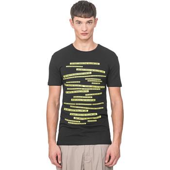 Kleidung Herren T-Shirts Antony Morato MMKS01749 FA120001 Schwarz