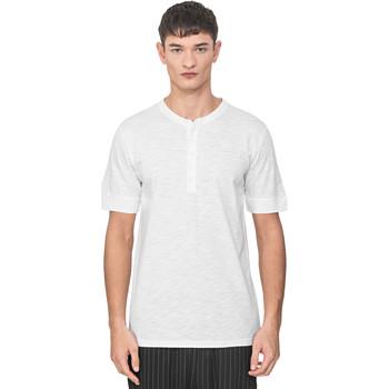 Kleidung Herren T-Shirts Antony Morato MMKS01725 FA100139 Weiß
