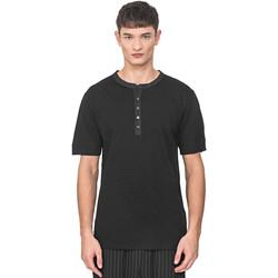 Kleidung Herren T-Shirts Antony Morato MMKS01725 FA100139 Schwarz