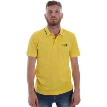 Kleidung Herren Polohemden Ea7 Emporio Armani 8NPF06 PJ04Z Gelb