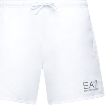 Kleidung Herren Badeanzug /Badeshorts Ea7 Emporio Armani 902000 CC721 Weiß
