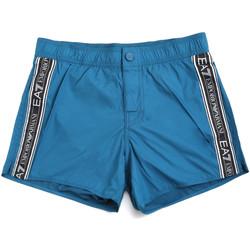 Kleidung Herren Badeanzug /Badeshorts Ea7 Emporio Armani 902039 0P734 Blau
