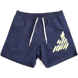 Kleidung Herren Badeanzug /Badeshorts Ea7 Emporio Armani 902000 0P724 Blau