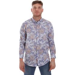 Kleidung Herren Langärmelige Hemden Sseinse CE502SS Blau