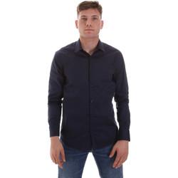 Kleidung Herren Langärmelige Hemden Sseinse CE506SS Blau