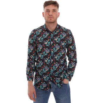 Kleidung Herren Langärmelige Hemden Sseinse CE509SS Blau