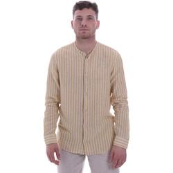 Kleidung Herren Langärmelige Hemden Sseinse CE534SS Beige